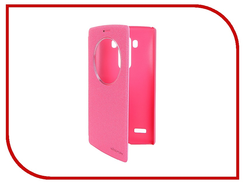 ��������� ����� LG G4S Nillkin Sparkle Leather Case Red T-N-LG4S-009
