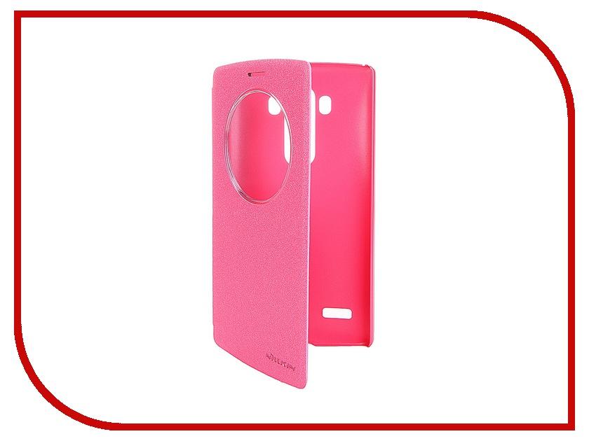 Аксессуар Чехол LG G4S Nillkin Sparkle Red<br>