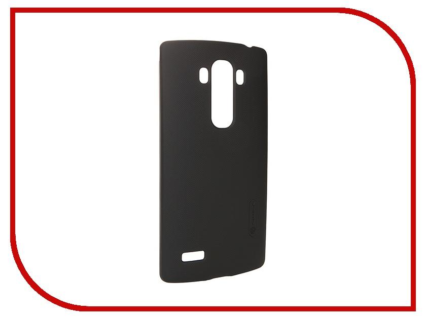 Аксессуар Чехол-накладка LG G4S Nillkin Frosted Shield Black<br>