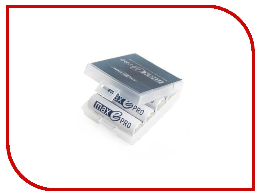 Аксессуар Ansmann 1302-0013-1 AHDBT AA 1900 для maxE PRO + футляр BOX4