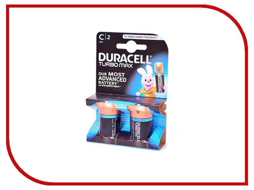 Батарейка C - Duracell Turbo MAX LR14-BL2 (2 штуки)<br>