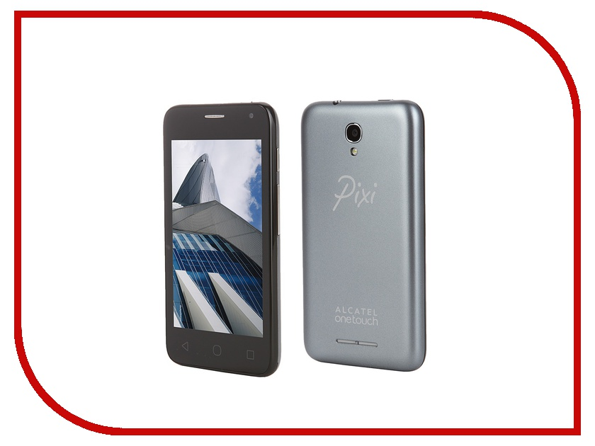Сотовый телефон Alcatel OneTouch 4024D PIXI First Soft Slate<br>