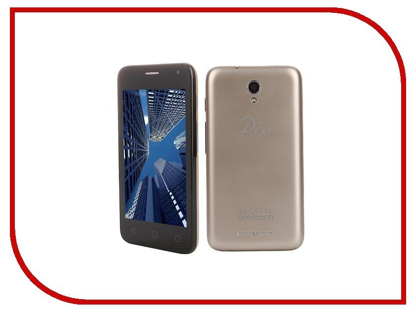 Сотовый телефон Alcatel OneTouch 4024D PIXI First Metall Gold<br>
