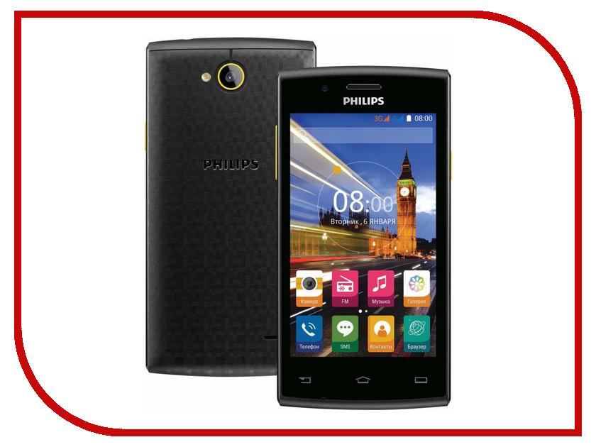 Сотовый телефон Philips S307 Black-Yellow<br>