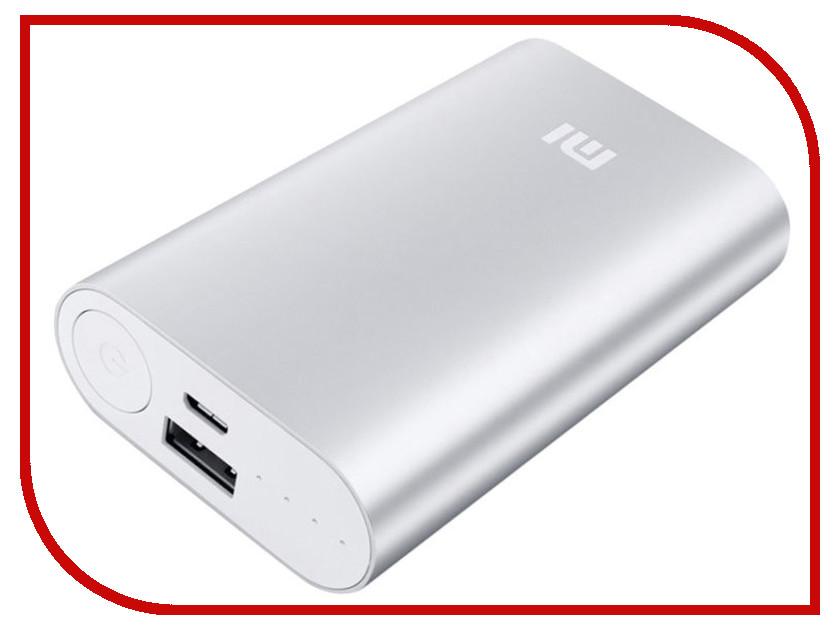 Аккумулятор Xiaomi Mi Power Bank NDY-02-AN / VXN4110CN 10000 mAh Silver<br>