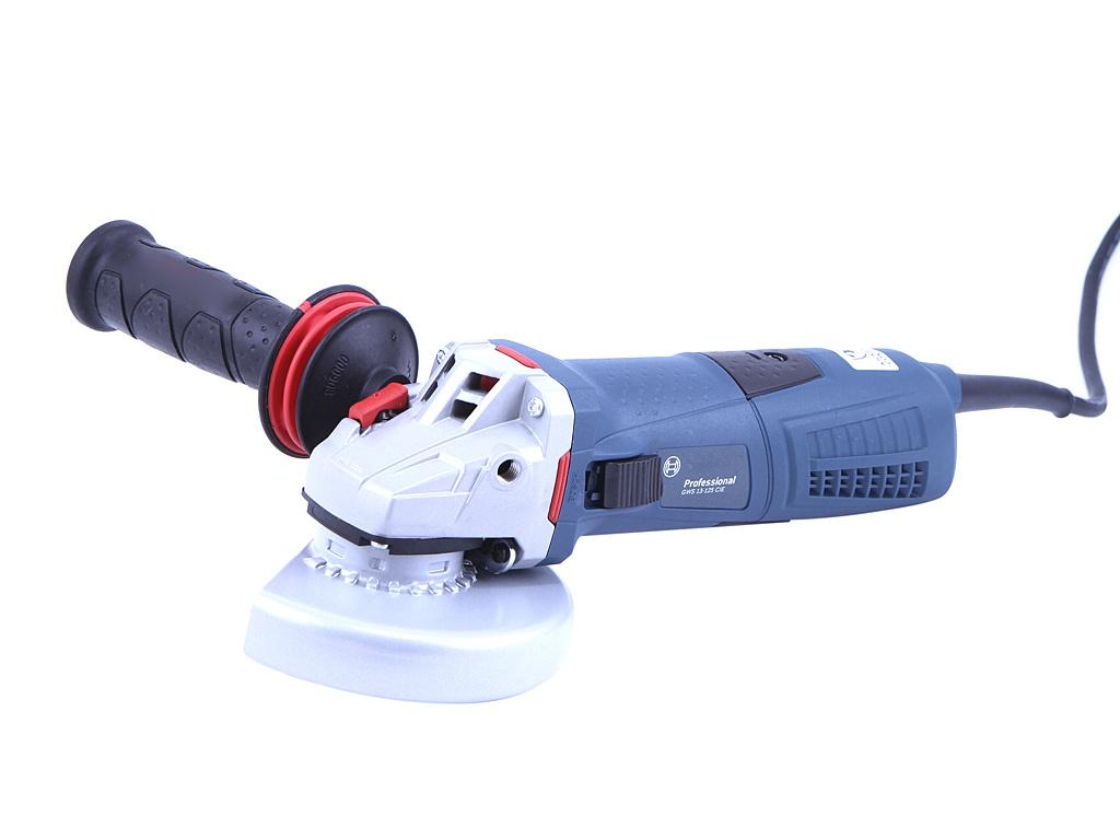 Шлифовальная машина BOSCH GWS 13-125 CIE, 1300 Вт, 125 мм углошлифовальная машина bosch gws 17 125 cie 125 мм 1700 вт