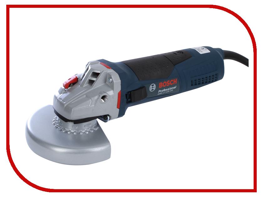 Шлифовальная машина Bosch GWS 17-125 CIE 06017960R2 угловая шлифовальная машина bosch gws 20 230 h 0 601 850 107