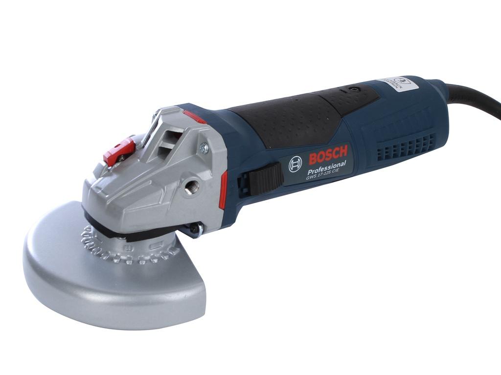 Шлифовальная машина Bosch GWS 17-125 CIE 06017960R2 углошлифовальная машина bosch gws 17 125 cie 125 мм 1700 вт