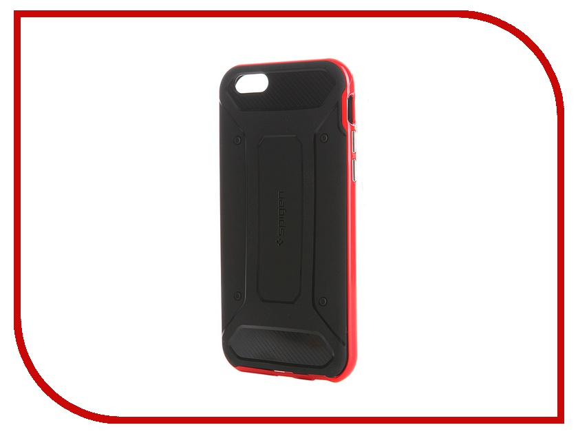 ��������� ����� SGP Neo Hybrid ��� iPhone 6S Carbon Red SGP11623