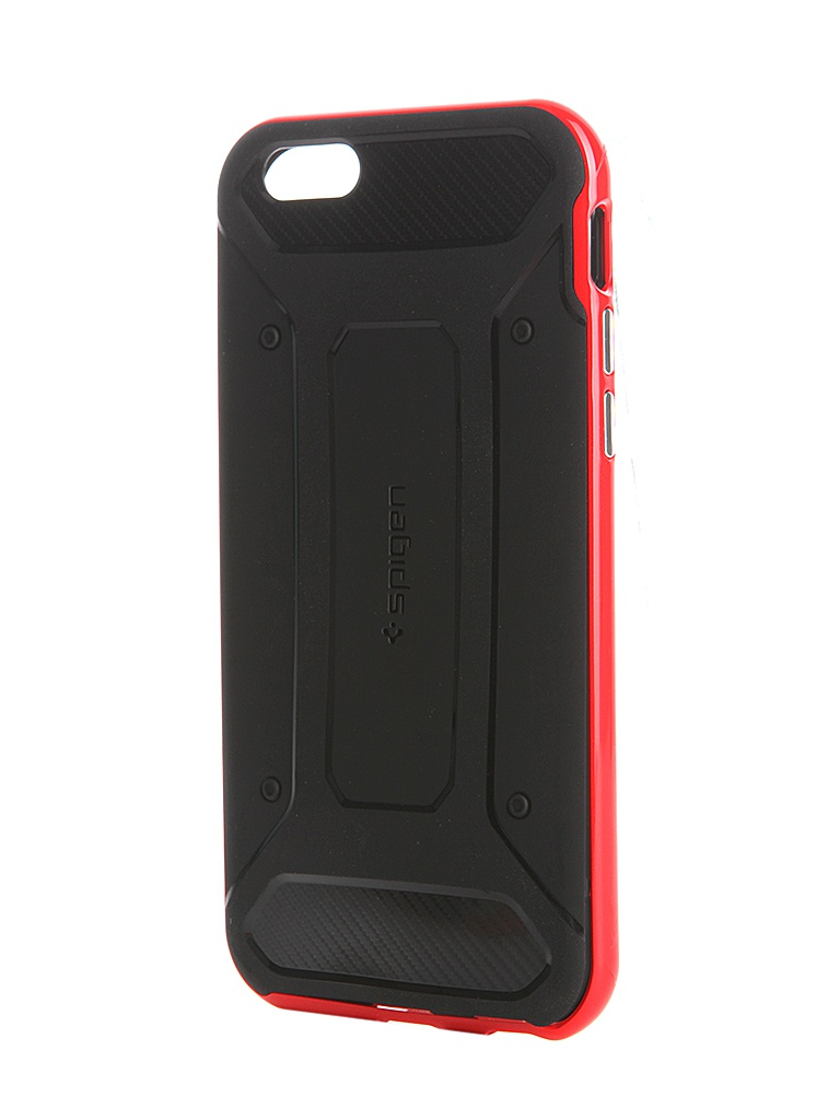 Аксессуар Чехол SGP Neo Hybrid для iPhone 6S Carbon Red SGP11623<br>