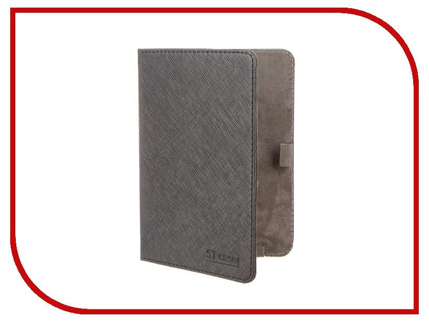 Аксессуар Чехол ST Case for Pocketbook 515 иск.кожа Black ST-c-PB515-BLK-LTH аксессуар чехол lenovo k10 vibe c2 k10a40 zibelino classico black zcl len k10a40 blk