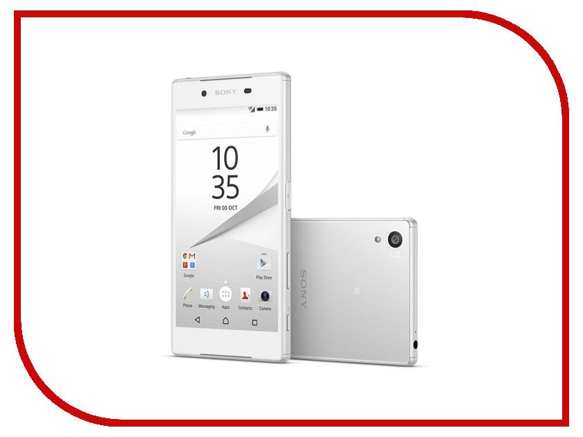 Сотовый телефон Sony E6653 Xperia Z5 White<br>