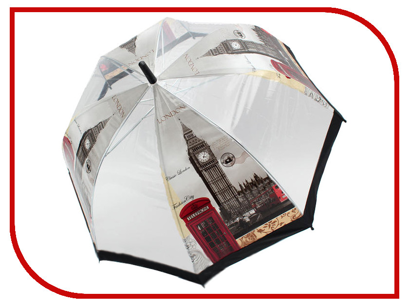 Зонт Suprella Pro Premium Black-Sky Flower