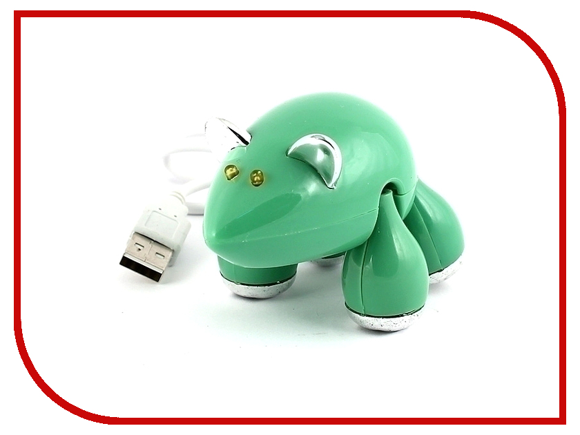 Хаб USB Эврика Мышь 95349 Green