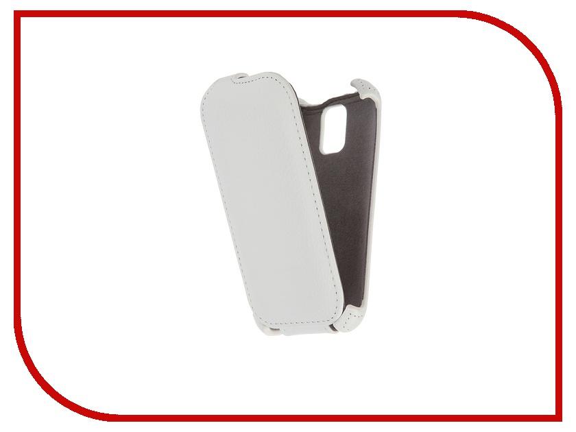 Аксессуар Чехол-флип Micromax D200 Gecko White GG-F-MICD200-WH<br>