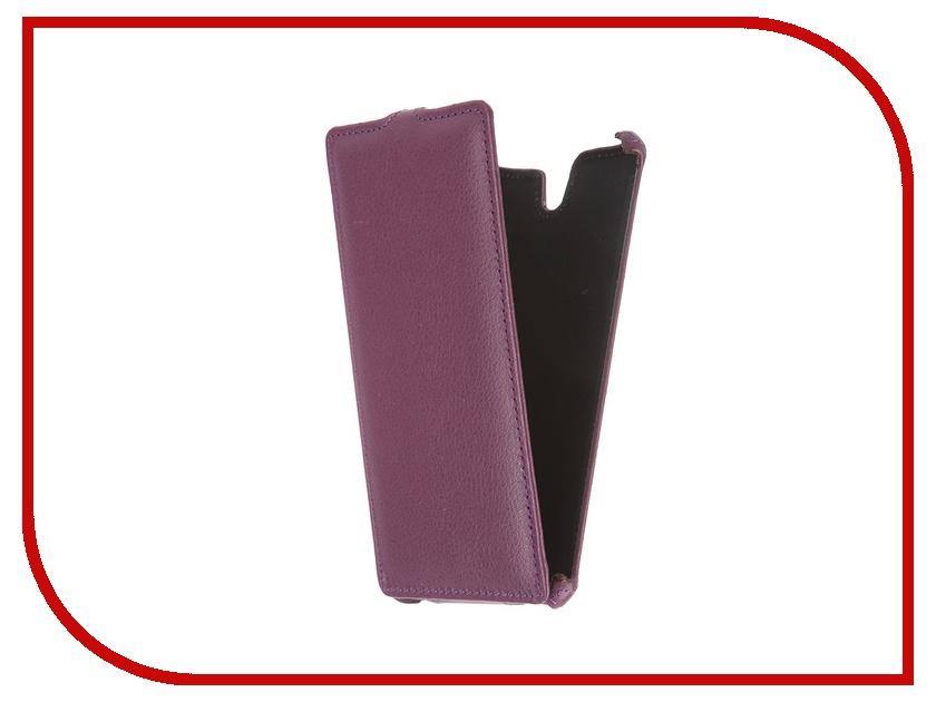 Аксессуар Чехол-флип Sony Xperia C5 Ultra Dual E5533 Gecko Violet GG-F-SONC5ULTRA-VIO