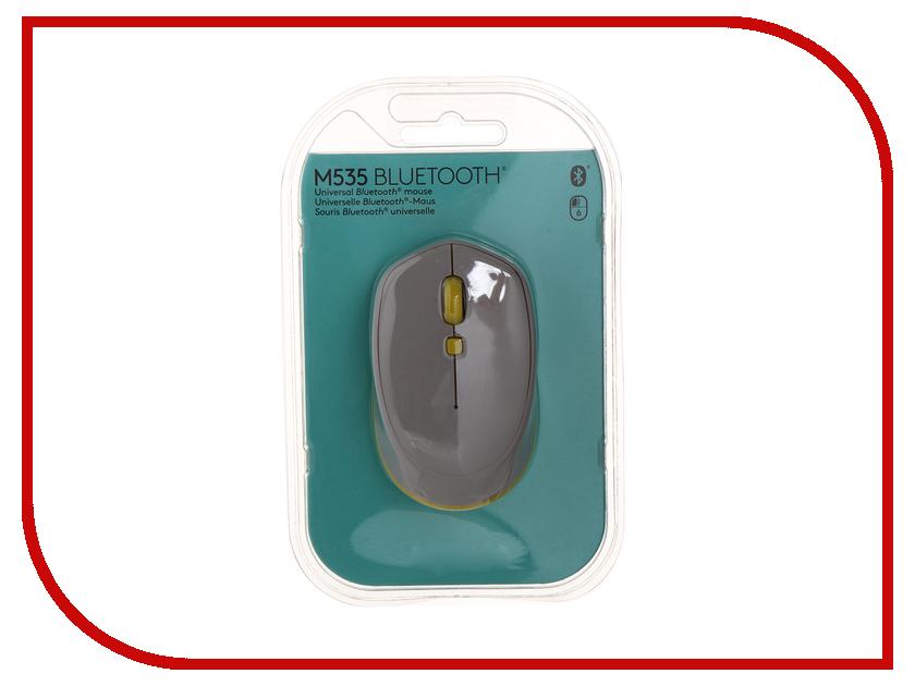 Мышь беспроводная Logitech M535 Grey 910-004530