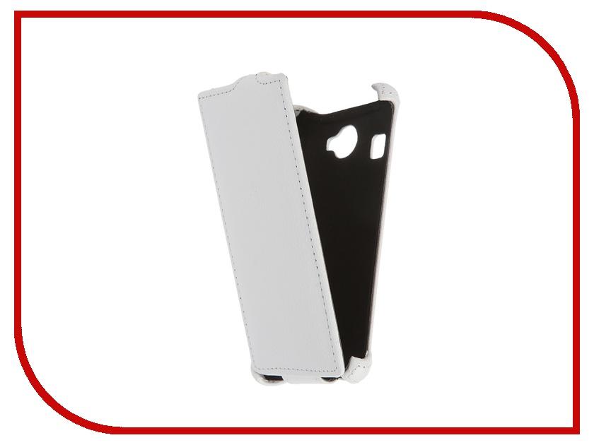 Аксессуар Чехол-флип Fly FS451 Nimbus 1 Gecko White GG-F-FLYFS451-WH смартфон fly nimbus 10 fs512 черный