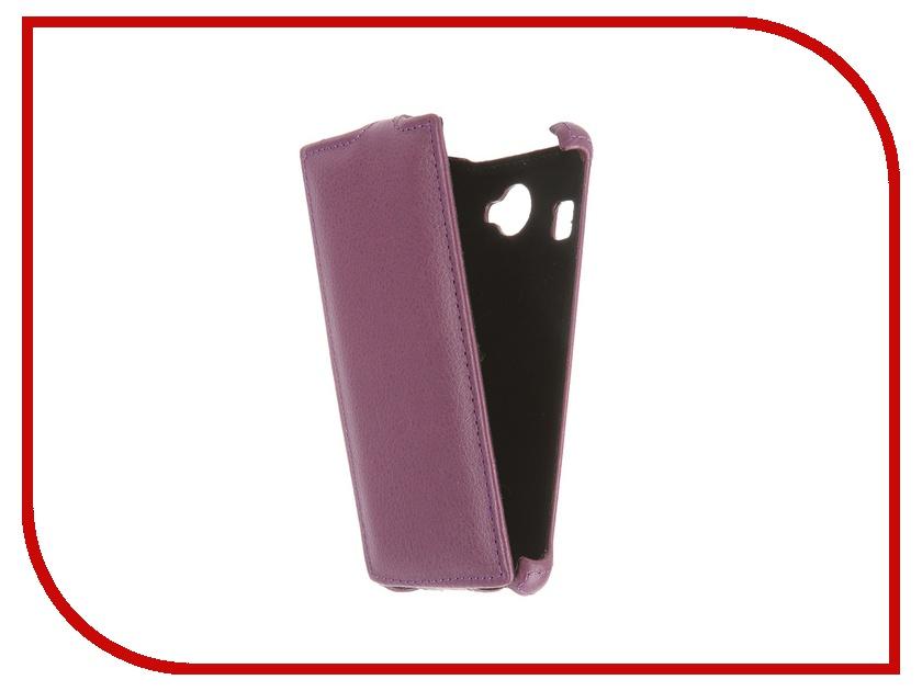 Аксессуар Чехол-флип Fly FS451 Nimbus 1 Gecko Violet GG-F-FLYFS451-VIO<br>