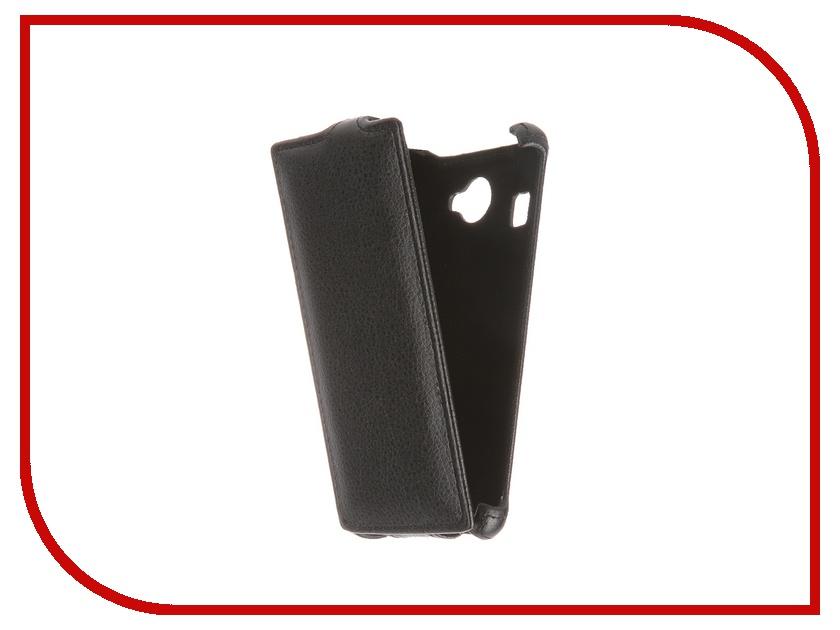 Аксессуар Чехол-флип Fly FS451 Nimbus 1 Gecko Black GG-F-FLYFS451-BL смартфон fly nimbus 10 fs512 черный