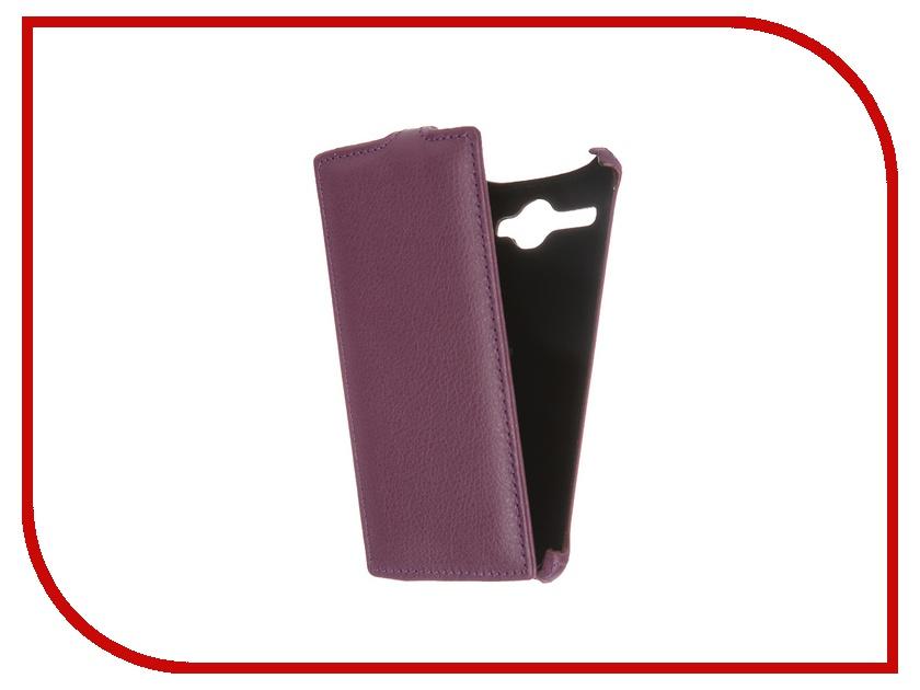 Аксессуар Чехол-флип Fly FS501 Nimbus 3 Gecko Violet GG-F-FLYFS501-VIO<br>