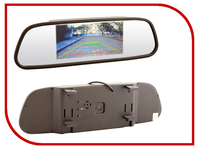 все цены на  Монитор в авто AVIS AVS0501BM  онлайн