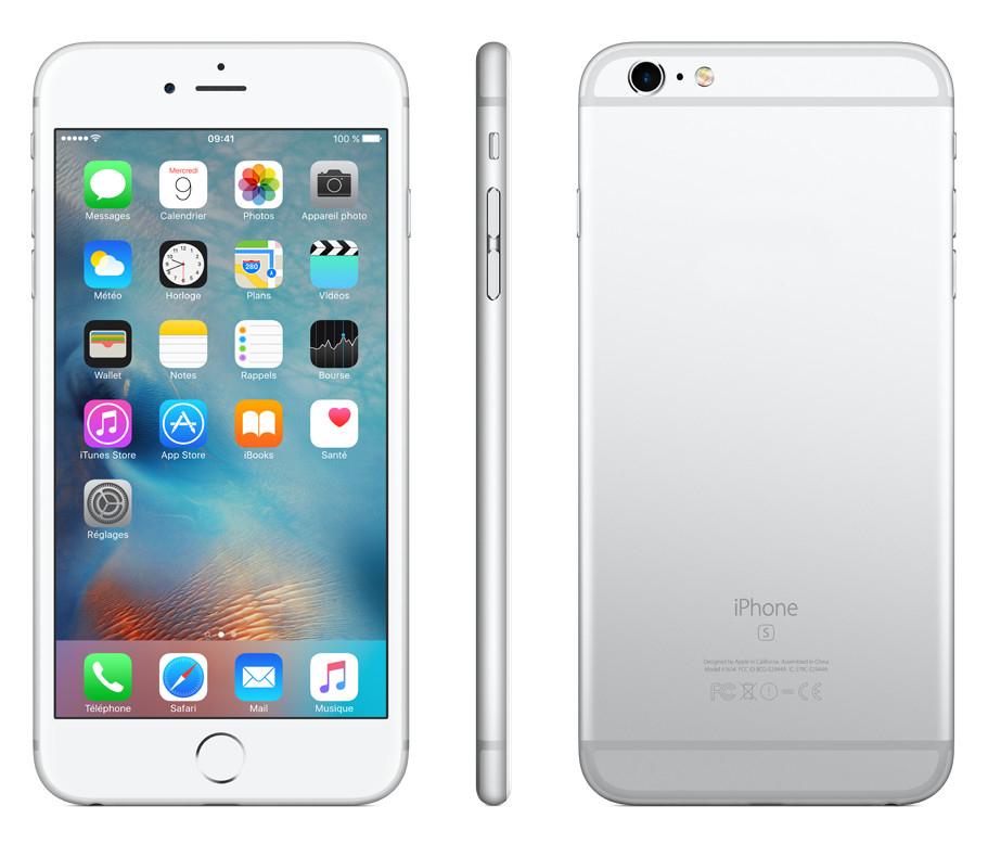 Сотовый телефон APPLE iPhone 6S Plus - 16Gb Silver MKU22RU/A<br>