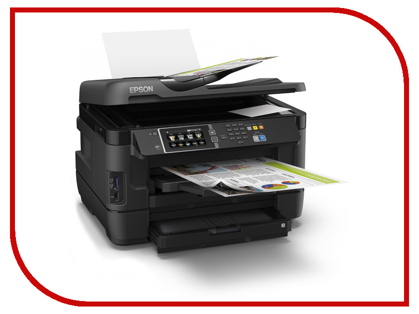 МФУ Epson WorkForce WF-7620DTWF<br>