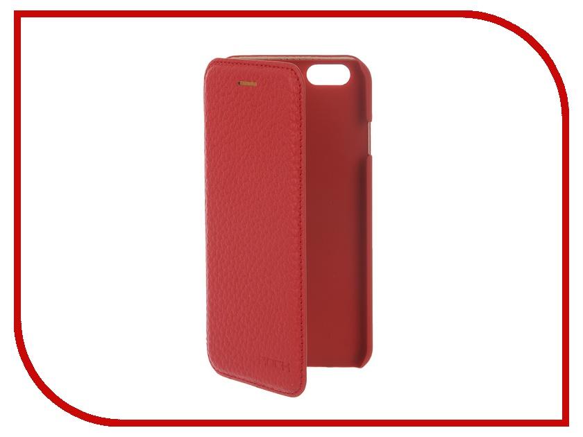 Аксессуар Чехол ROCK Jazz Series для iPhone 6 Red