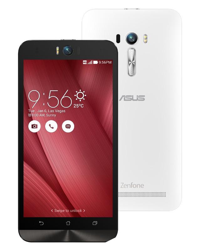 Сотовый телефон ASUS ZenFone 2 Selfie ZD551KL 16Gb White