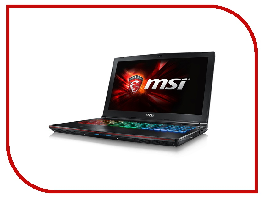 Ноутбук MSI GE62 6QF-010XRU 9S7-16J412-010 Intel Core i7-6700HQ 2.6 GHz/8192Mb/1000Gb/DVD-RW/nVidia GeForce GTX 970M 3072Mb/Wi-Fi/Bluetooth/Cam/15.6/1920x1080/DOS
