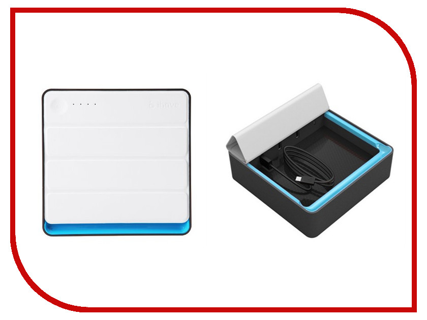 Аккумулятор iHave Cov-Box 24000 mAh Black-Blue<br>