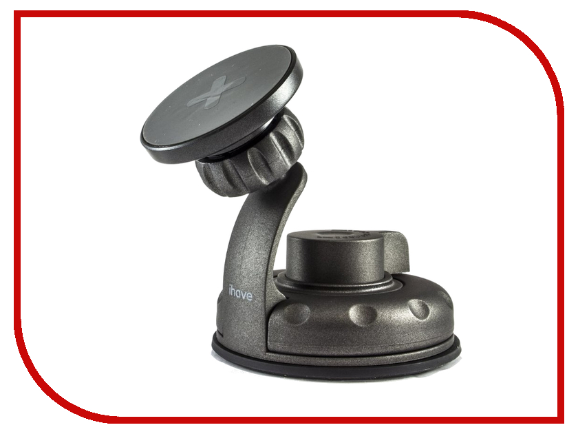 Держатель iHave X-series Magnetic Car Holder iz0101 Grey