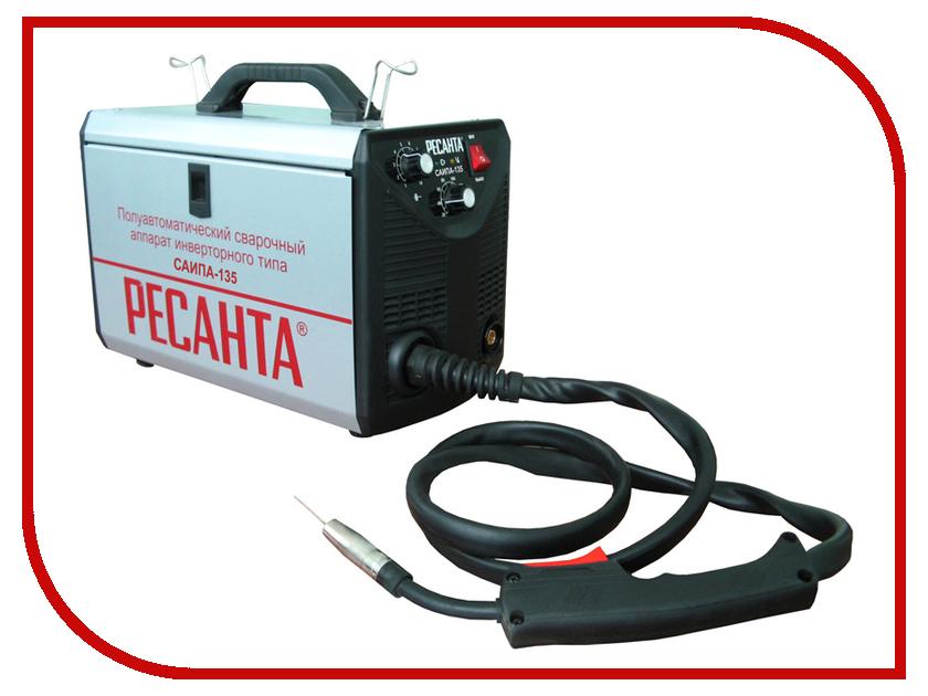 Сварочный аппарат Ресанта САИПА 135 сварочный полуавтомат ресанта саипа 135