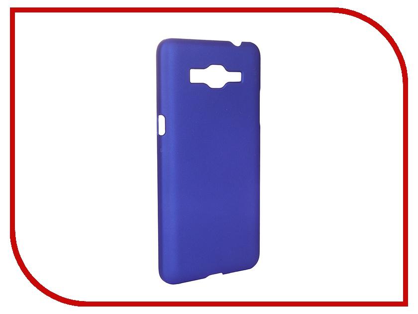 Аксессуар Чехол-накладка Samsung Galaxy Grand Prime G530/G531 SkinBox 4People Blue T-S-SG530-002 + защитная пленка