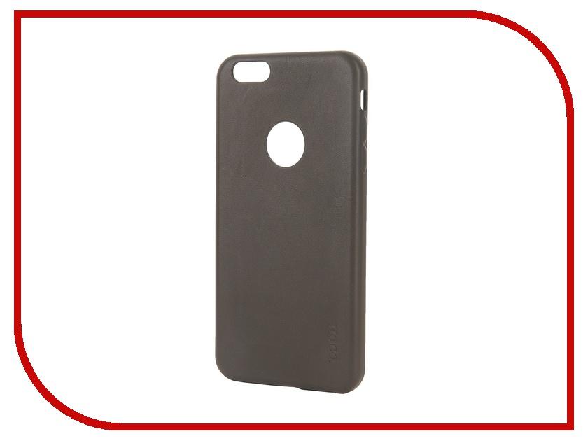 Аксессуар Чехол-накладка HOCO Paris Series для iPhone 6 Plus Grey<br>