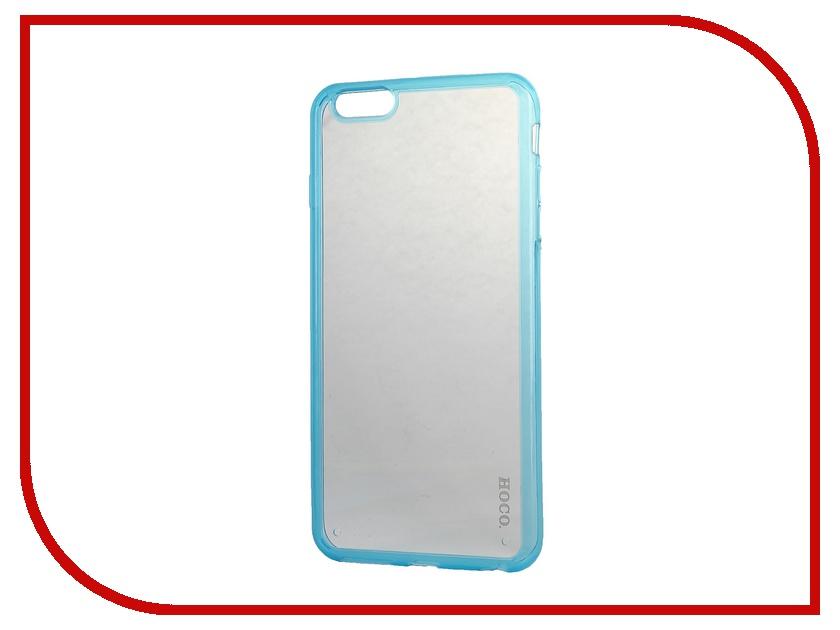 Аксессуар Чехол HOCO Steel Series Double color для iPhone 6 Plus Blue<br>