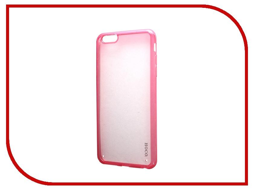 ��������� �����-�������� HOCO Steel Series Double Color ��� Apple iPhone 6 Plus Pink
