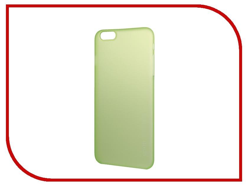 Аксессуар Чехол-накладка HOCO Ultra Thin Series для iPhone 6 Plus Green<br>