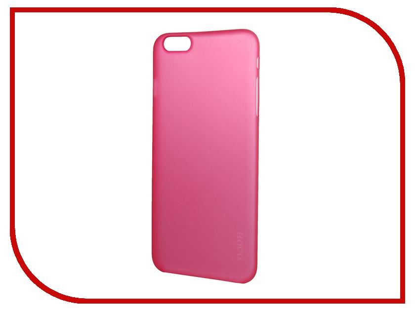 Аксессуар Чехол-накладка HOCO Ultra Thin Series для iPhone 6 Plus Rose<br>