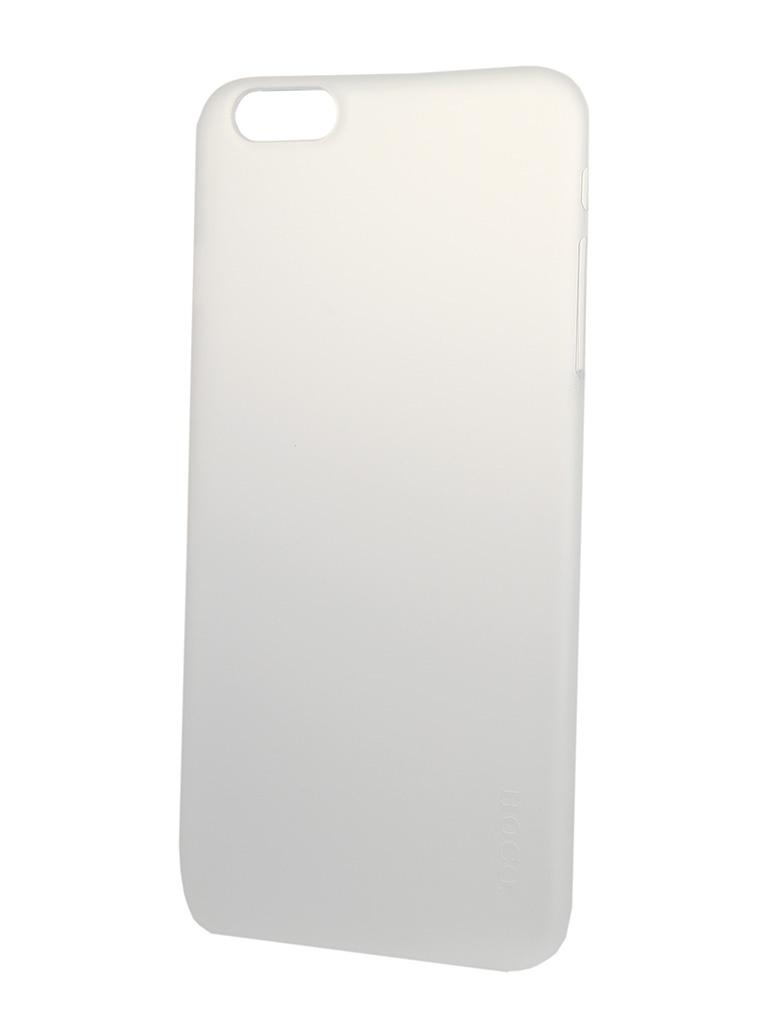 Аксессуар Чехол-накладка HOCO Ultra Thin Series для iPhone 6 Plus White<br>