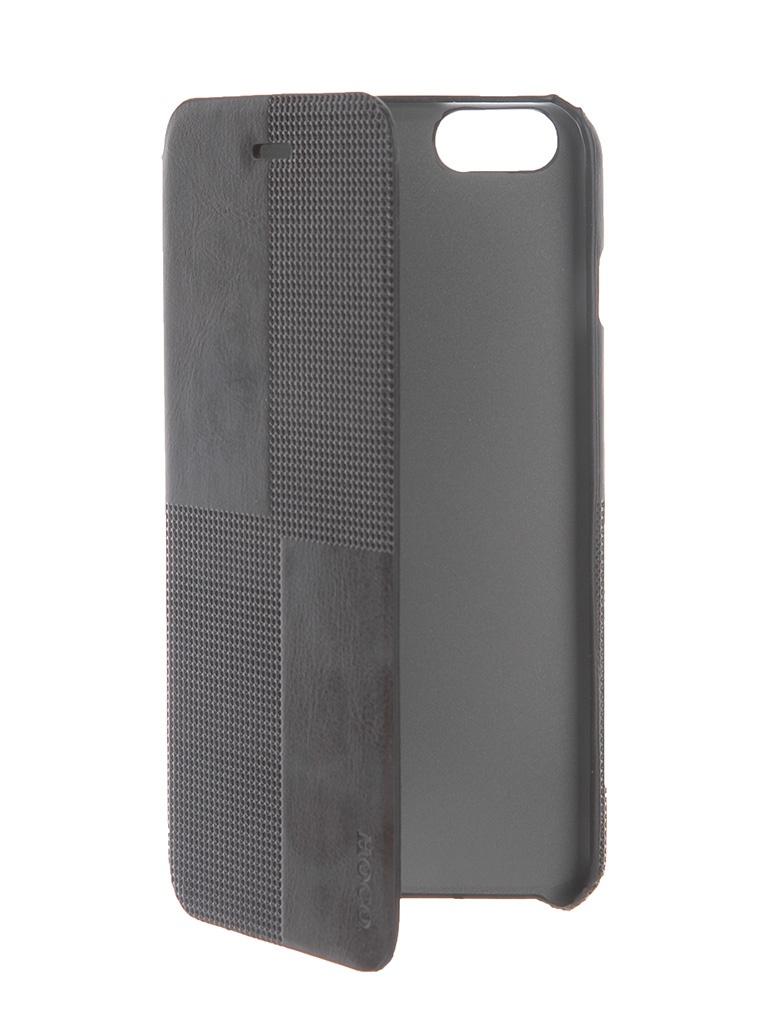Аксессуар Чехол HOCO Crystal Fashion для iPhone 6 Plus Black<br>