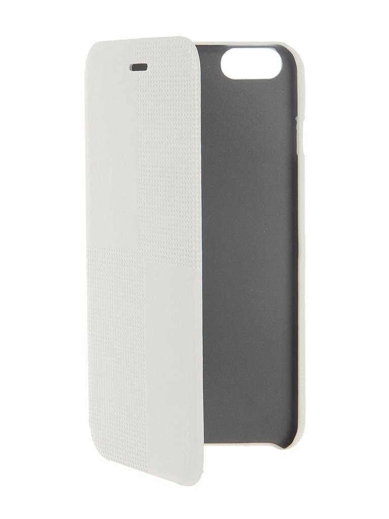 Аксессуар Чехол HOCO Crystal Fashion для iPhone 6 Plus White<br>