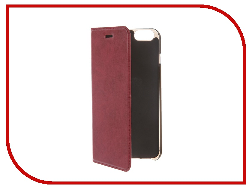 Аксессуар Чехол HOCO Luxury Series для iPhone 6 Plus Wine Red<br>