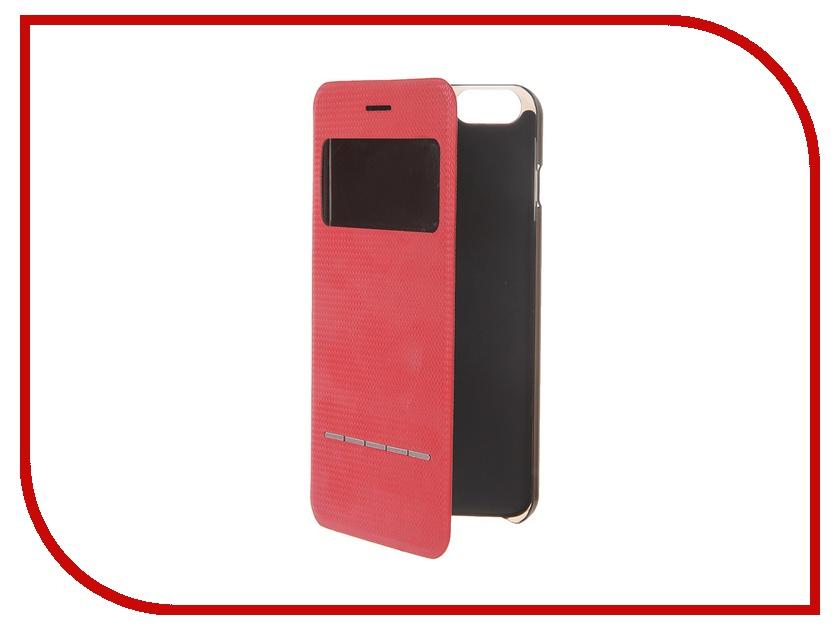 Аксессуар Чехол HOCO Smart Series для iPhone 6 Plus Red<br>