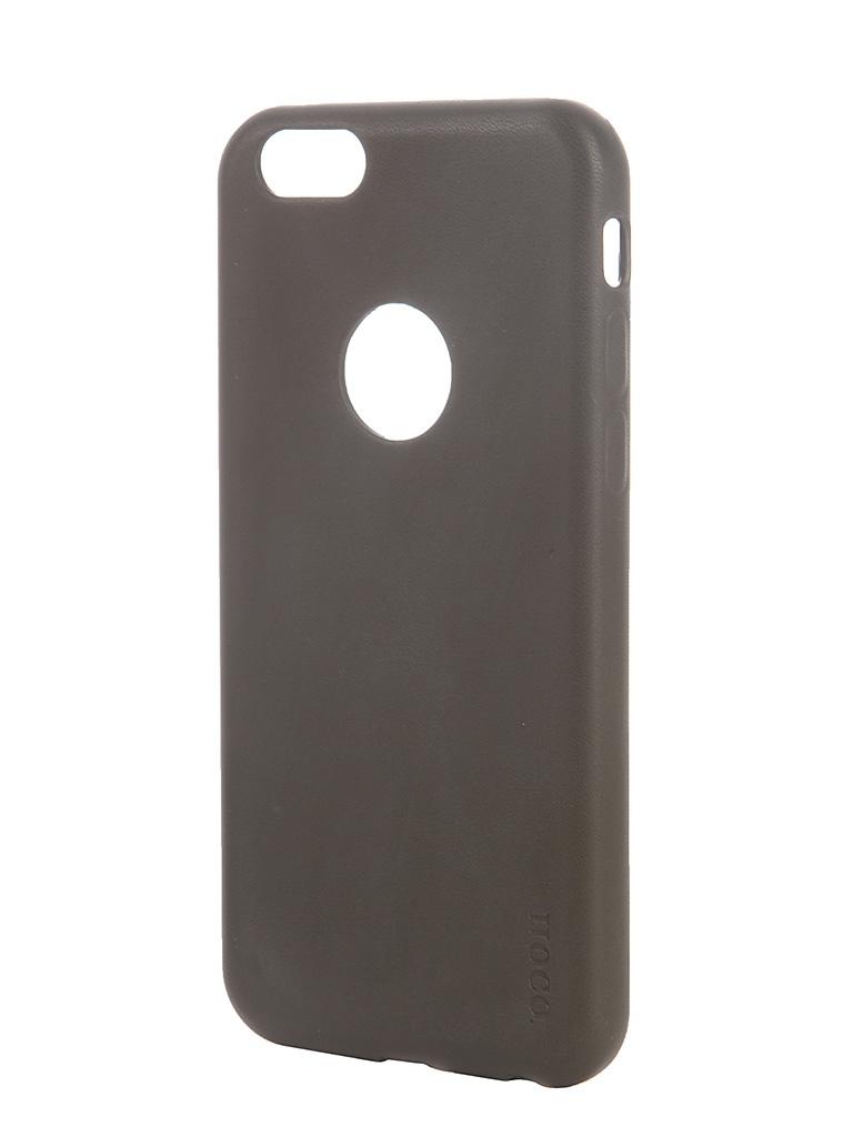 Аксессуар Чехол-накладка HOCO Paris Series для iPhone 6 Grey<br>