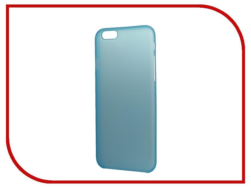 Аксессуар Чехол-накладка HOCO Ultra Thin Series для iPhone 6 Blue<br>