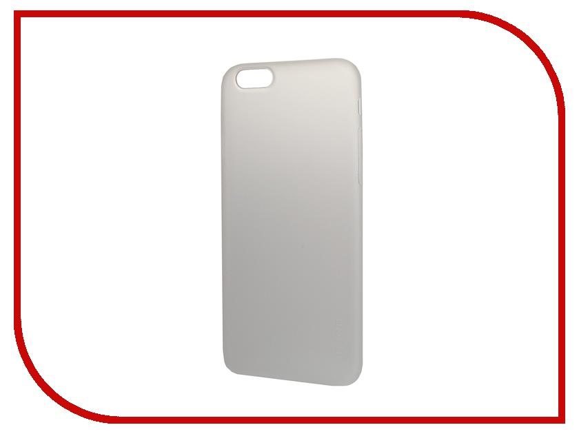Аксессуар Чехол-накладка HOCO Ultra Thin Series для iPhone 6 White<br>