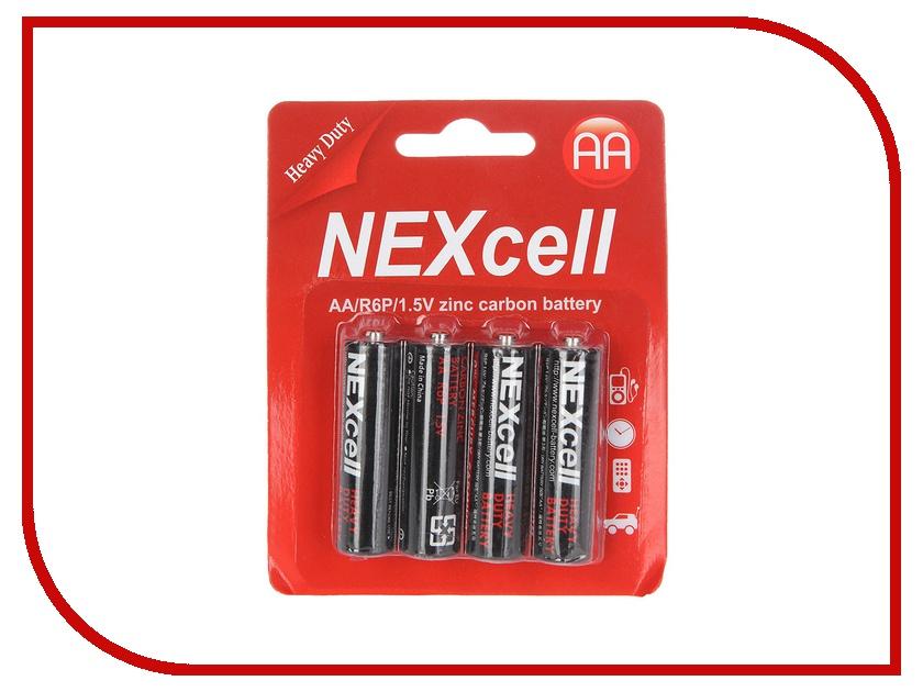 Батарейка AA - NEXcell R6 AA 1.5V (4 штуки)