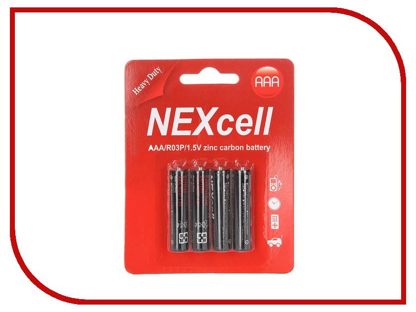 Батарейка AAA - NEXcell R03 AAA 1.5V (4 штуки)